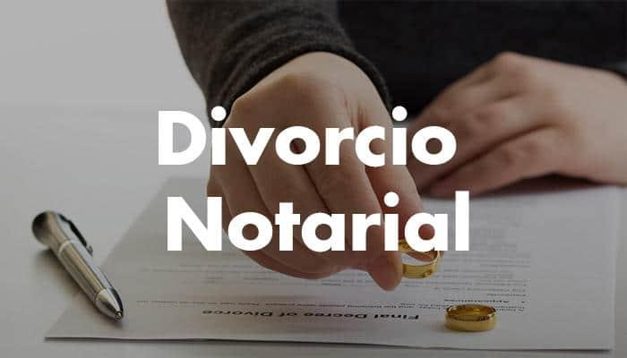 Divorsio Notarial. Trámites y procedimientos